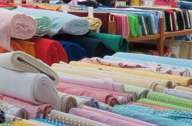 Textile (transformation et vente)